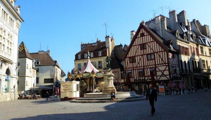 Burgundijas galvaspilsēta Dižona – sinepju, vīna un vēstures bagātību valstība