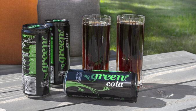 Latvijas balzams будет производить диетический лимонад Green Cola