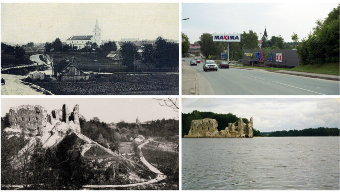 ФОТО. Тогда и сейчас: как Латвия изменилась за 100 лет