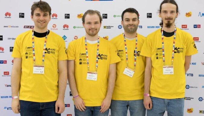 Latvijas studenti iekļūst pasaules spēcīgāko programmētāju komandu Top 30