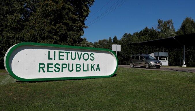 Латвийско-литовскую границу за сутки пересекает около 10 000 человек