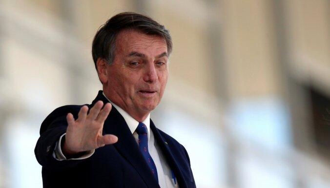 Brazīlijas Augstākā tiesa dod zaļo gaismu prezidenta rīcības izmeklēšanai