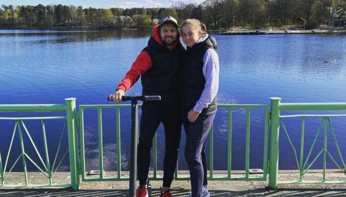 ФОТО: Алена Остапенко подтвердила отношения с футболистом Карашаускасом