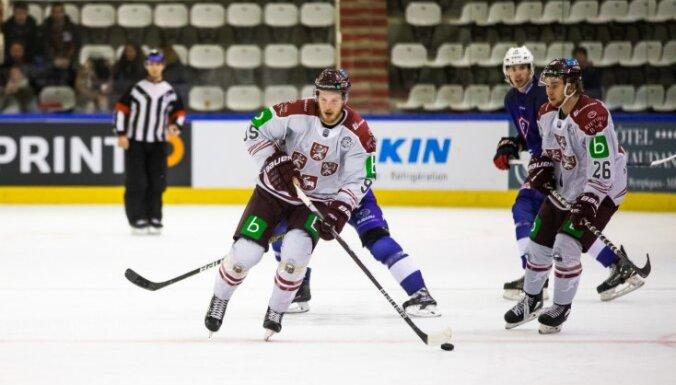 Сборная Латвии провела два разных матча с французами перед ЧМ-2019