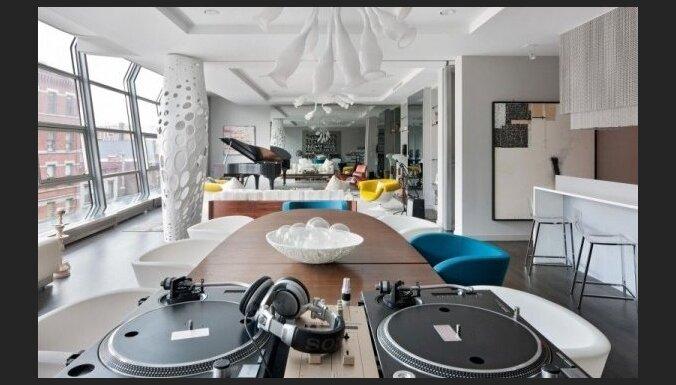 Četrus miljonus vērts kreatīvs apartaments Ņujorkā (+FOTO)