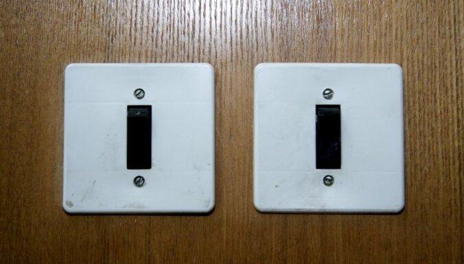 Atjaunota elektrības apgāde Mežciemā