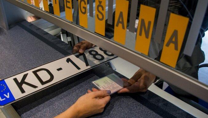 CSDD тратит на изготовление номерных знаков в 3-5 раз больше, чем в Литве и Эстонии