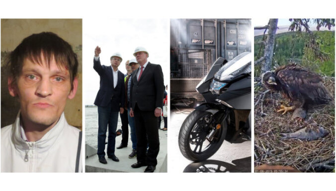 Notver noziedznieku - monstru, riskantie ES projekti, gada motocikls un drāma jūras ērgļu ligzdā