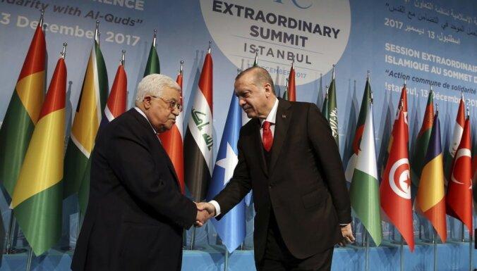 Islāma valstu samitā Austrumjeruzaleme atzīta par Palestīnas galvaspilsētu