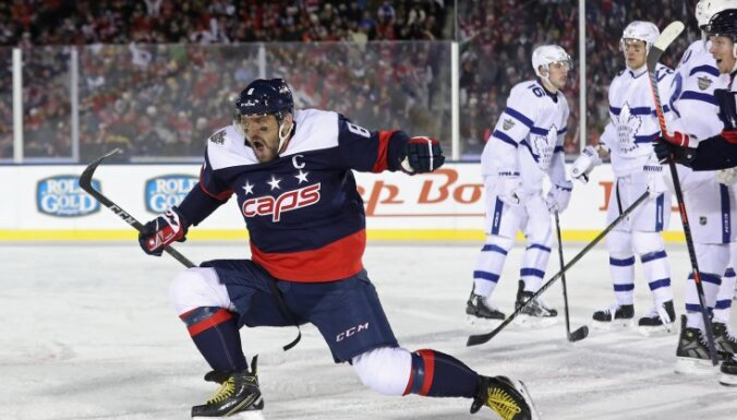 Овечкин провел тысячный матч в НХЛ и переписал российский рекорд Буре