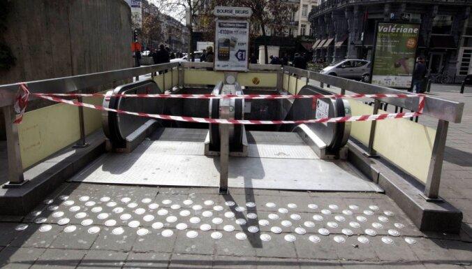 Briselē ceturto dienu turpinās sabiedriskā transporta darbinieku streiks