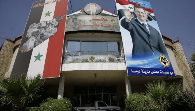 ANO DP iesniegtā rezolūcijas projektā atbalstīts Arābu līgas plāns par Sīrijas prezidenta atkāpšanos