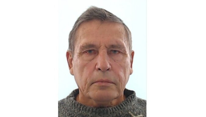 Lūdz palīdzību Daugavpilī pazuduša sirmgalvja meklēšanā