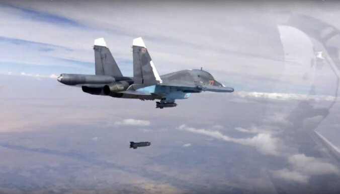 Россия опубликовала видео уничтожения замаскированного подземного бункера боевиков