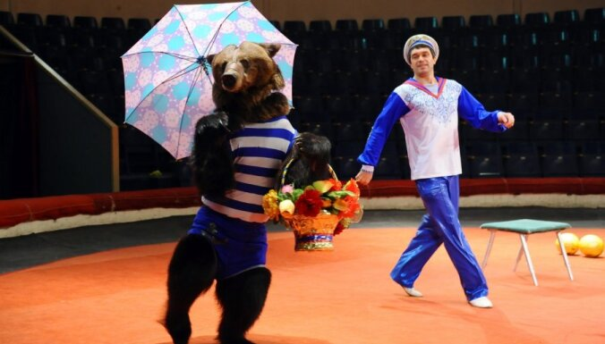ФОТО: в Рижском цирке к Рождеству — новое представление