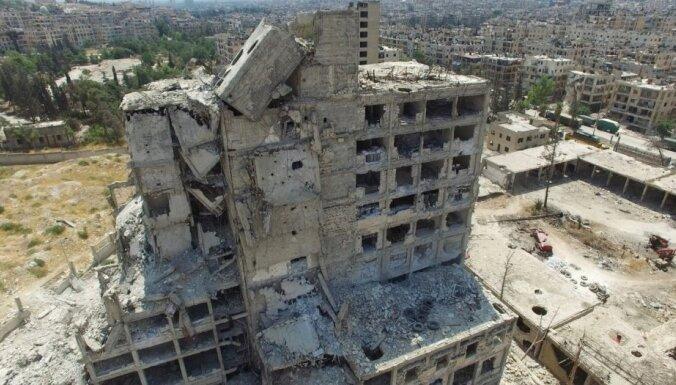 Сирийская армия начала штурм удерживаемых боевиками зданий в Алеппо