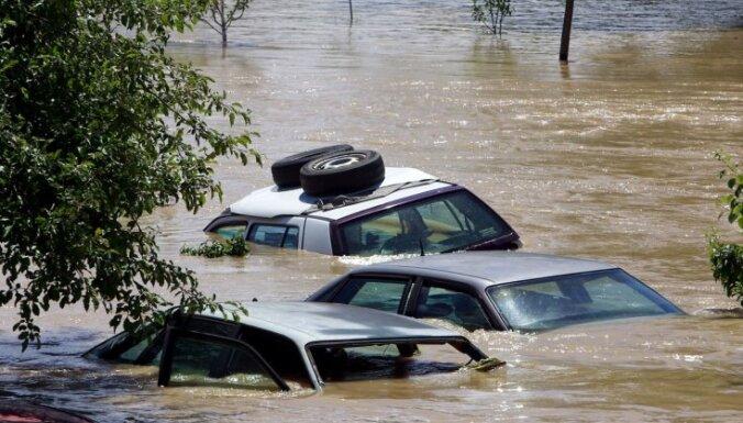 Plūdu upuru skaits Afganistānas ziemeļos pieaudzis līdz 74