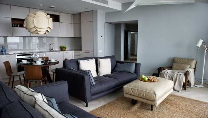 ФОТО. Как выглядят демонстрационные квартиры в новых проектах в Риге