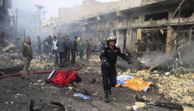 Vardarbībā Irākā maijā nogalināto skaits pieaug otro mēnesi pēc kārtas