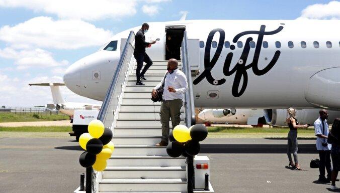 Pretstatā tendencēm aviācijas nozarē Dienvidāfrikā darbību sāk jauna zemo cenu lidsabiedrība