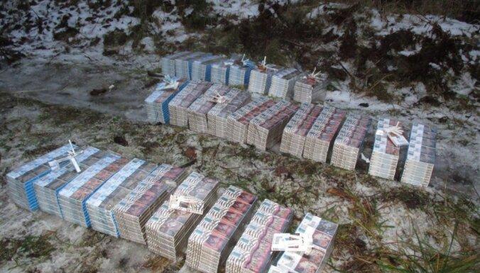Пограничники задержали контрабандистов и изъяли у них 50 000 нелегальных сигарет