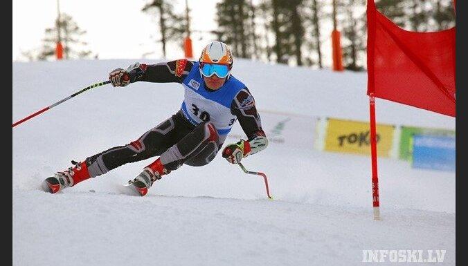 Латвийский горнолыжник впервые в истории — в ТОР-30 Кубка мира