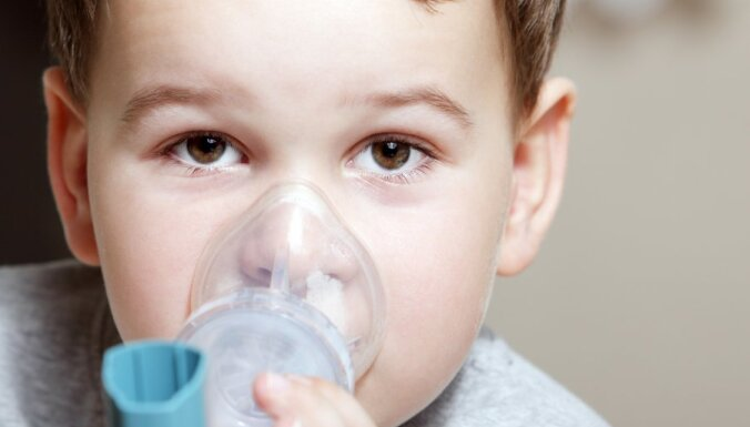 astma, bērns