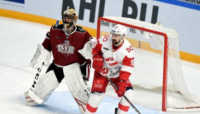 Rīgas 'Dinamo' ar uzvaru pār 'Spartak' pārtrauc neveiksmju sēriju