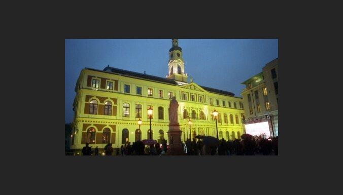 Pie Rīgas Rātsnama plāno veidot slidotavu