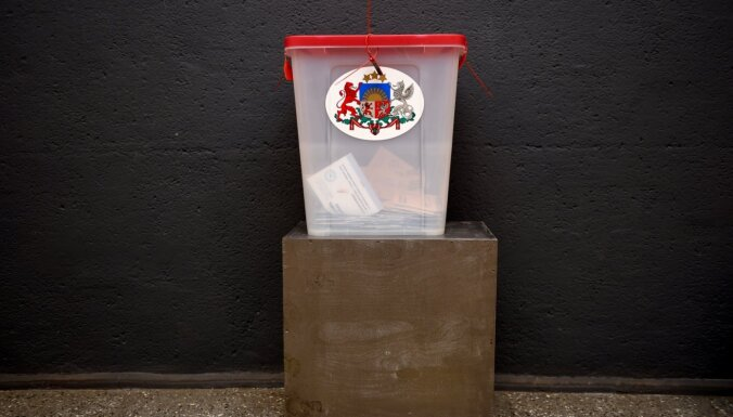 До 20:00 на выборах в Рижскую думу проголосовали 38,57% избирателей