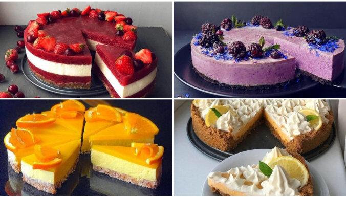 16 slaidajai līnijai draudzīgas kūkas kaloriju skaitītājiem