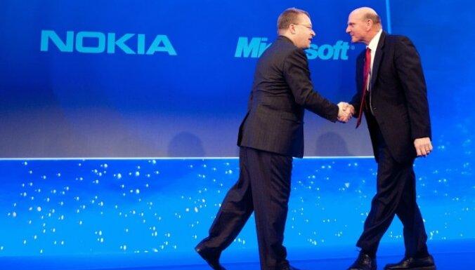 Акции Nokia резко подорожали на фоне сообщения о сделке с Microsoft