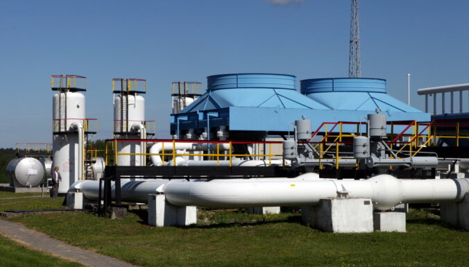 Inčukalna krātuvē iesūknēta apkures sezonai vajadzīgā gāze