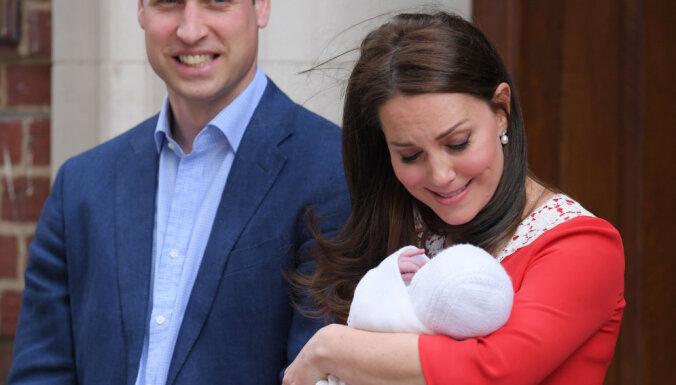 Jūlijā tiks kristīts mazais britu princis Luiss