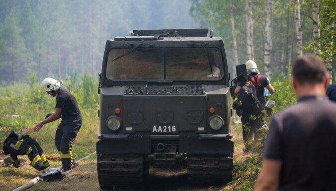 Valdgales pagasta ugunsgrēks: policija sāk kriminālprocesu