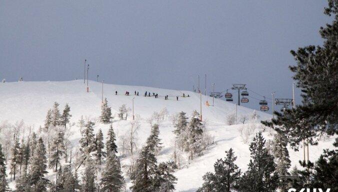 Baltijas kausa izcīņas kalnu slēpošanā pirmā diena. Video ieraksts