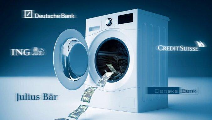 Vēl pieci Eiropas finanšu milži pieķerti naudas atmazgāšanas lietās