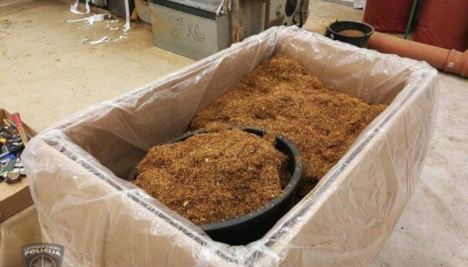 Полиция обнаружила подпольное табачное производство: изъято около 1 миллиона сигарет