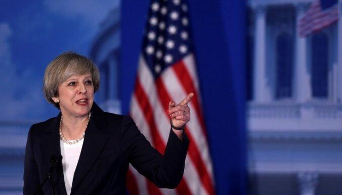 Мэй призвала США улучшать отношения с Россией, но быть настороже