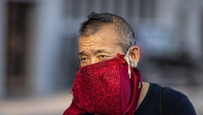'Covid-19': Dienvidkorejas pilsētas mērs aicina 2,5 miljonus cilvēku nedoties laukā no mājām