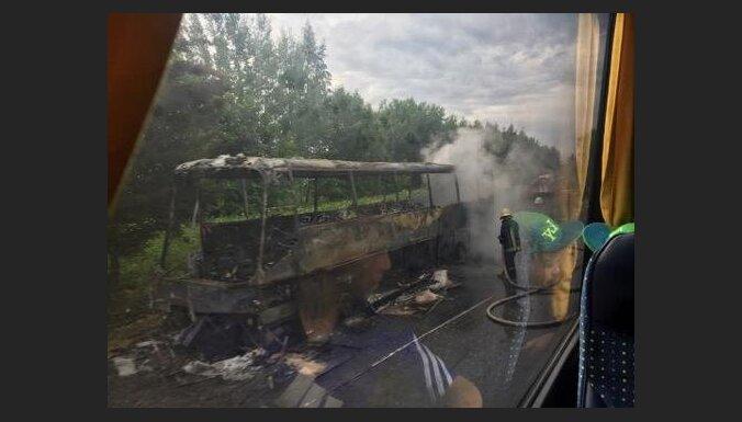 Nodedzis BFC 'Daugavpils' autobuss