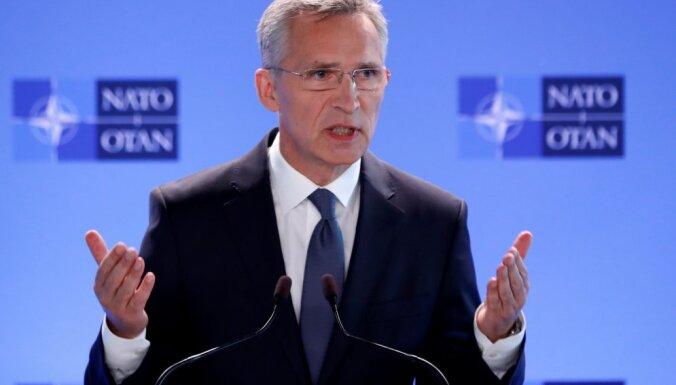 Йенс Столтенберг: позиция НАТО по Беларуси едина