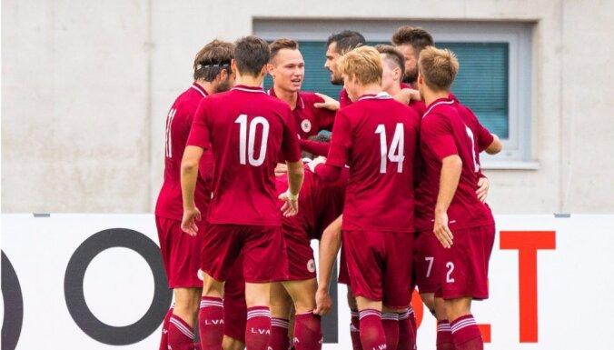 Latvijas U-21 futbolisti patīkami pārsteidz, bet piekāpjas spēcīgajai Anglijai