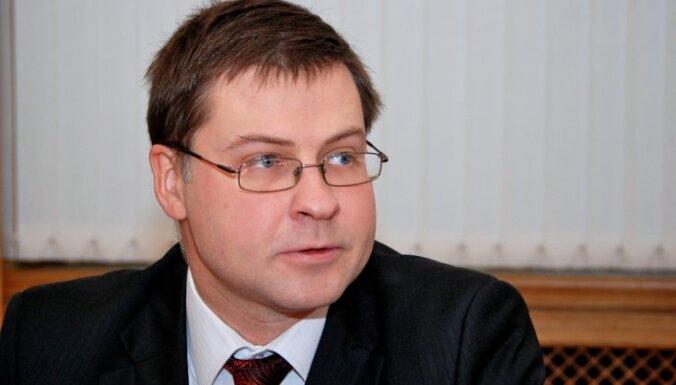 Dombrovskis partijas 'Vienotība' vadību uzņemsies, ja būs pieprasījums