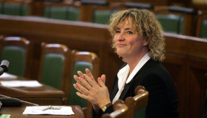 Grigule visnaskāk piesakās darbam EP delegācijās
