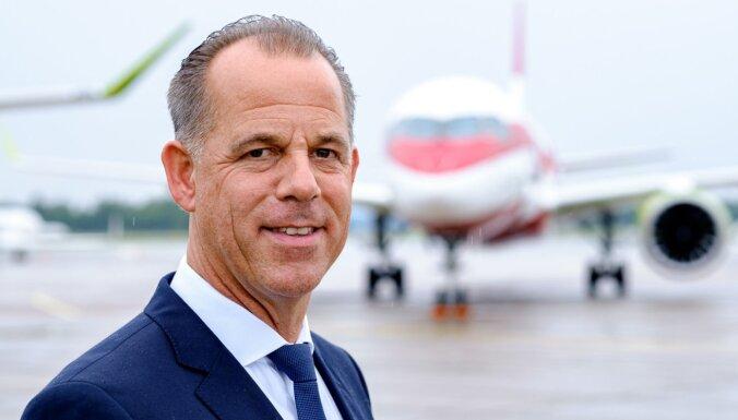 'Covid-19': 'airBaltic' uz laiku plāno samazināt vadības darba samaksu; samazinājuma procentu neatklāj
