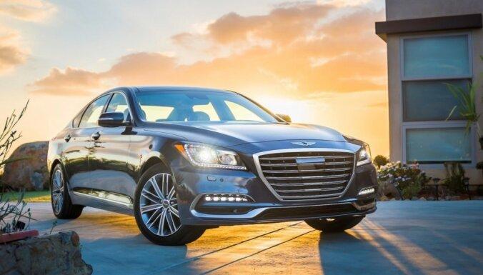'Hyundai' piederošā 'Genesis' marka klientu apmierinātībā apsteigusi līdzšinējo līderi 'Porsche'