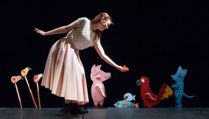 Leļļu teātrī pirmo reizi iestudē 'Alisi Brīnumzemē'