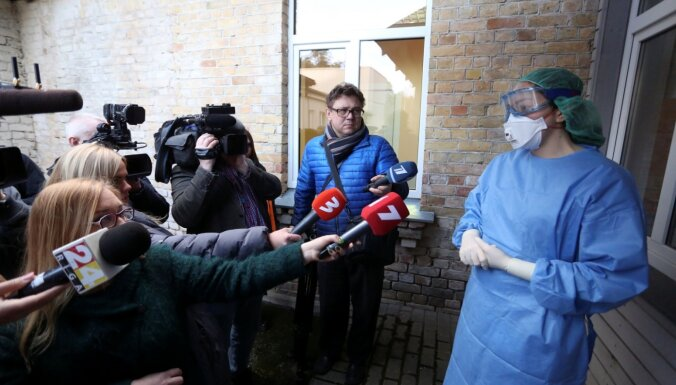 Latvijā apstiprina pirmo 'Covid-19' saslimšanas gadījumu