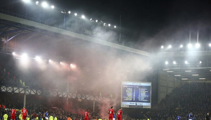 Everton - Liverpool at Goodison Park